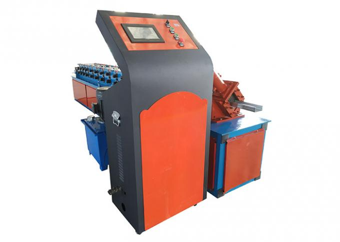 Galvanized Steel C Shape Steel Keel Making Machine , Cold Roll Forming Machine