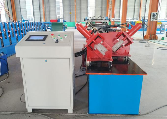 Double Frame Light Steel Keel Roll Forming Machine For Different Profile Produce