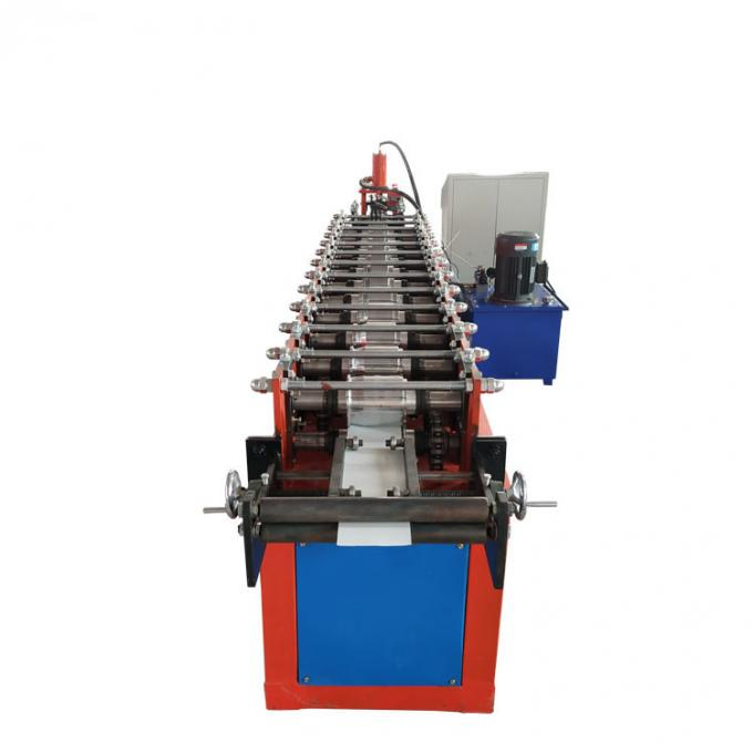 CE Roller Shutter Door Slats Cold Roll Forming Machine With Fast Speed