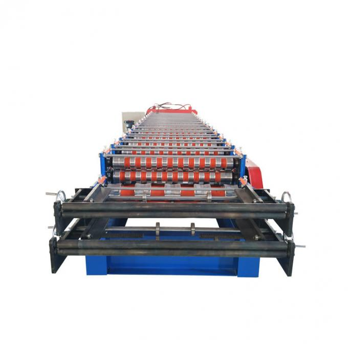 Roofing Sheet Wall Panel Double Layer Roll Forming Machine Ibr And Corrugated Panel