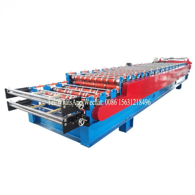 Customized Double Layer Forming Machine Roof Automatic Tile Roll Making