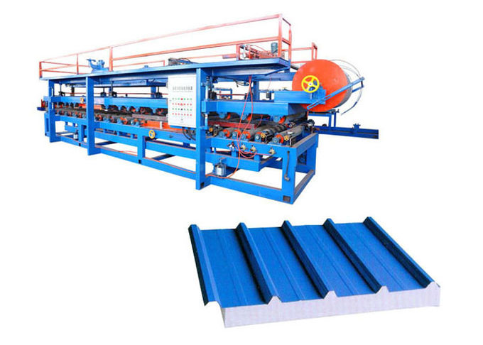Automatic Sandwich Panel Forming Machine Total Weight 16 Tons Shaft Number 24