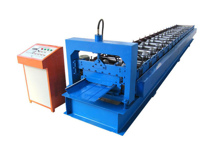 Joint Hidden Standing Seam Roll Forming Machine Hydraulic Station Power 4 KW