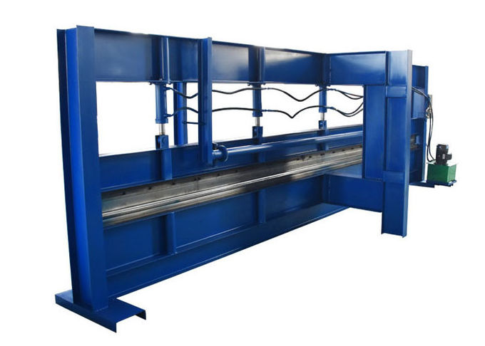 Hydraulic Press Steel Sheet Bending Machine 4000mm Max Width Material Thickness 0.3-1mm