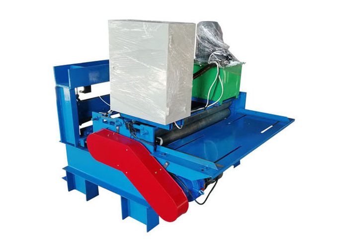 Steel Coil Slitting Shearing Metal Machine , Metal Guillotine Machine For Change Size